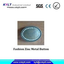 Модная цинковая металлическая кнопка