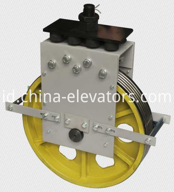 Elevator Car Top Pulley Assembly Custom Made