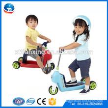Скутер с тремя колесами Scooter для детей Складной детский космический самокат Kids kick scooter