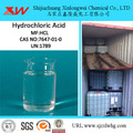 Industrial Synthesis Hydrochloric Acid 31% -33%