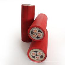 Garantia de comércio cabo de mina anti-estático de cobre encalhado resistente ao fogo