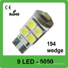 New design 9-SMD 5050 automotive led car lights