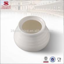 Gros café en céramique ensemble sucrier, bouilloire de sucre blanc