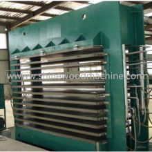 Mesin Cetak Hot Plywood Hot Press