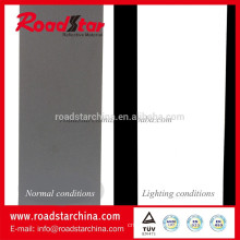 PVC reflective artificial leather for garments