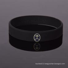 Factory Special design religion Silicone custom printed wristband