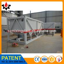 DOM silo, silo horizontal, silo de cimento móvel, silo portátil à venda