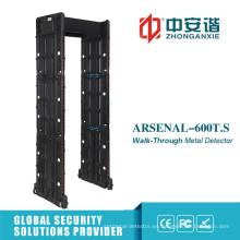 Seguridad Base Militar 255 Sensibilidad de Nivel Detector de Metal Digital