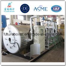 Caldeira de óleo térmico para óleo pesado industrial