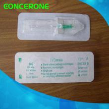 Cánula IV intravenosa de mariposa con ala 18-24G