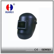 Casco soldadura 2A-T3 con vidrio protector de la soldadura