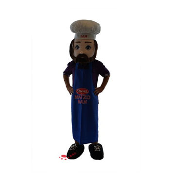 soft bread brand plush promotional costume