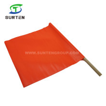 OEM Traffic Road/Street Safety Warning Anti-UV/Waterproof PVC/Polyester/Nylon Printing Reflective/Fluorescent Color Square/Triangle Delineator String