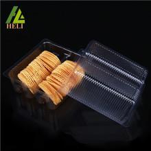 Biscuit en plastique de biscuit de boursouflure adapté aux besoins du client