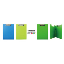 Double side PVC Clipboard Display Board Clip