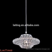 Vintage en métal décor de lampes d'éclairage de fer lustre moderne 71113