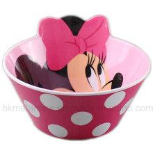 Bacia de melamina com logotipo de Mickey (BW7374)