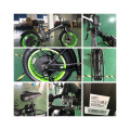 20 Inch 48v 1000w Electric bike Suspension Fork Ebike Fat Tire Folding Electric Bicycle