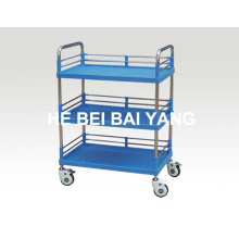 B-83 3-Layer ABS Treatment Trolley