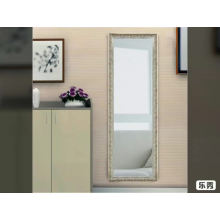 Оптовое дешевое стоящее серебряное зеркало во всю длину одевая зеркало