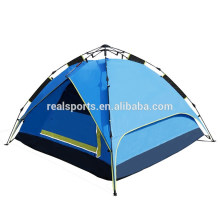 Barraca de acampamento do preço da fabricação 3-4 povos barracas de acampamento grandes impermeáveis