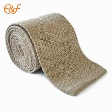Conjunto de corbata de seda de color puro chino personalizado