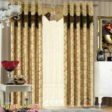 2015 royal design restaurante tecido fantasia cortina
