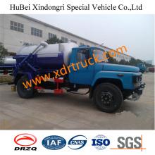 Dongfeng 5.25cbm Sewage Suction Tanker Truck