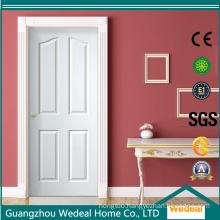 Oak Veneer Four Panel Composite Hollow Core MDF/HDF Door