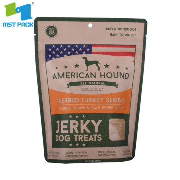 Pet Dog Molar Stick Beef Jerky Snack Packtasche