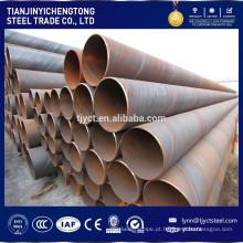 Tubulação de aço da emenda da solda de API5L X60 X70 X80 Sprial para a entrega do óleo