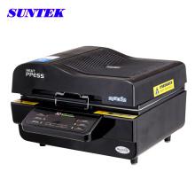 Máquina de impressão de transferência de calor 3D caso combinação caneca de telefone