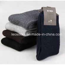 Classic Design Dress Sock Merino Wool Cashmere Socks Men