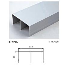 Aluminium-Schiene für Kleiderschrank Schiebetür