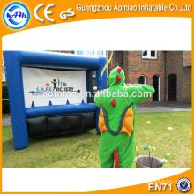 Arqueiro inflável jogo inflável arco-e-flecha Giant inflável dardo bordo