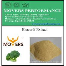 Suministro de extracto de plantas orgánicas naturales extracto de brócoli
