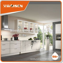 On-time delivery factory directly prefab white kitchen cabinet