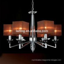 Modern Hanging Lighting Lustre de Cristal Chandelier Wedding Decoration