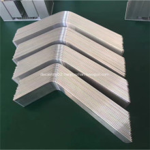 aluminum heat pipes applied in solar collectors