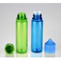 Bouteille e-liquide PET en plastique de 60 ml pour liquide