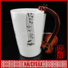 HCC antique square shape ceramic coffee mug