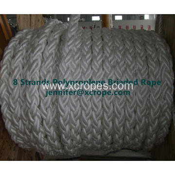 8 Strands Polyproplene Briad Rope