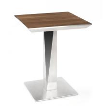 Корейский высококачественный металлический каркас из дерева для ресторана обеденные столы