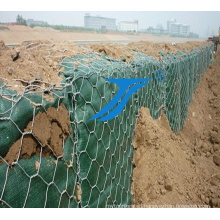 Gabion Boxs for Dam/River Bed, Galvanized Steel Wire