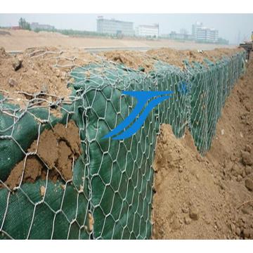 Boîtes de Gabion pour lit de barrage / rivière, fil d'acier galvanisé