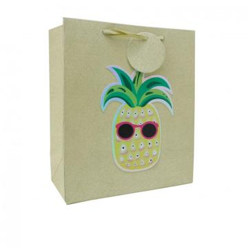 PINEAPPLE PAPER GIFTBAG -0
