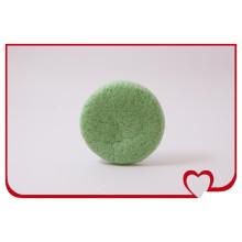 Wholsale 100% Natural Konjac Sponge Green Tea Round Puff Beauty Face Cleaning Sponge
