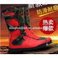bottes de moto fabriquées en Chine