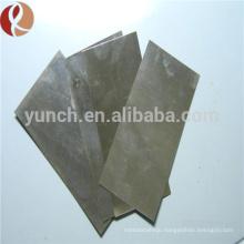 ASTM B386-91and GB3876-83 Mo360 Mo361 Mo364 molybdenum plates /sheets,polished molybdenum foil/sheets/plates for sale