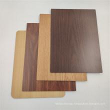 B1 Wood Grain Corrugated Fire Resistance Aluminium Composite Panel